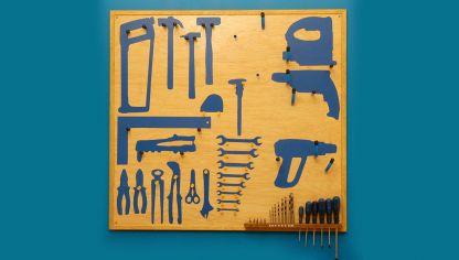 C mo hacer una caja de herramientas bricoman a - Tablero de herramientas ...
