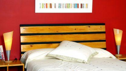 Cabecero de cama decogarden - Como hacer un cabecero de tela ...