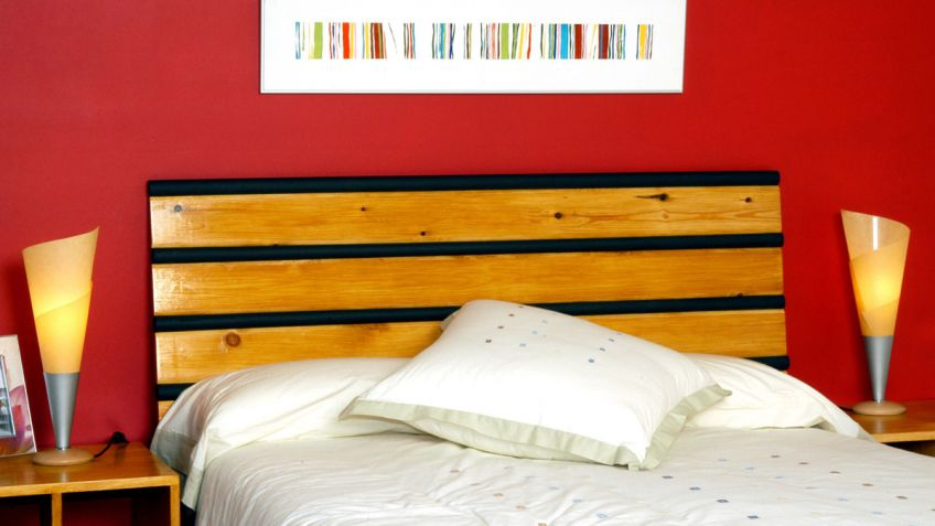 Cabeceros de cama de madera cabeceros de cama with - Cabecero de cama de madera ...