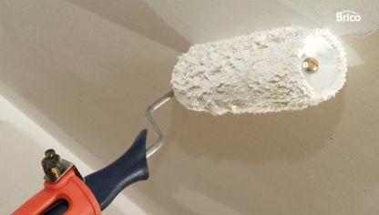 Pintar techo de ba o bricoman a - Como quitar el gotele de una habitacion ...
