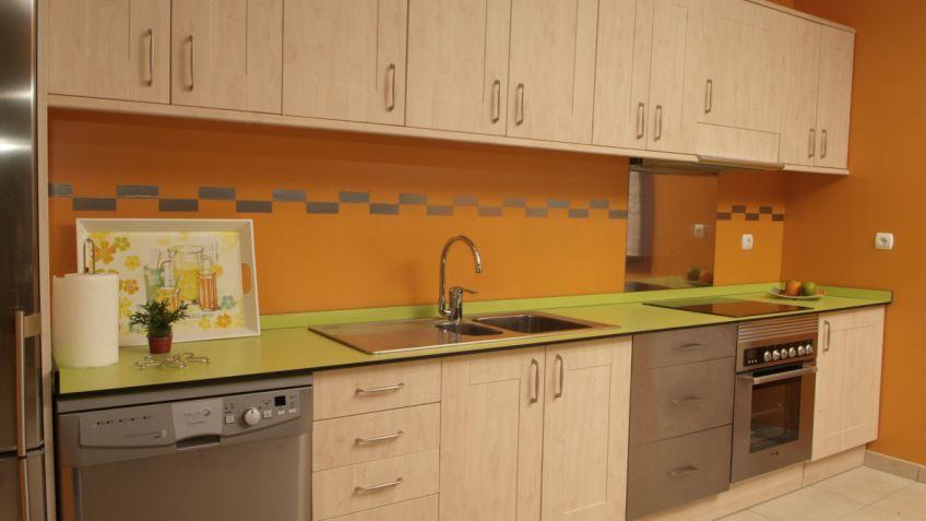 Paneles decorativos para cocinas cmo revestir nuestro bao - Paneles para cocina ...