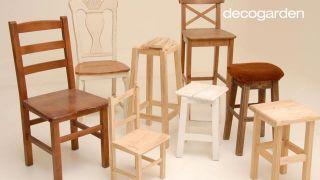 Pintar sillas de madera - Paso 1
