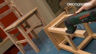 Pintar sillas de madera - Paso 3