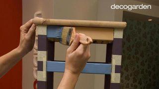 Pintar sillas de madera - Paso 4
