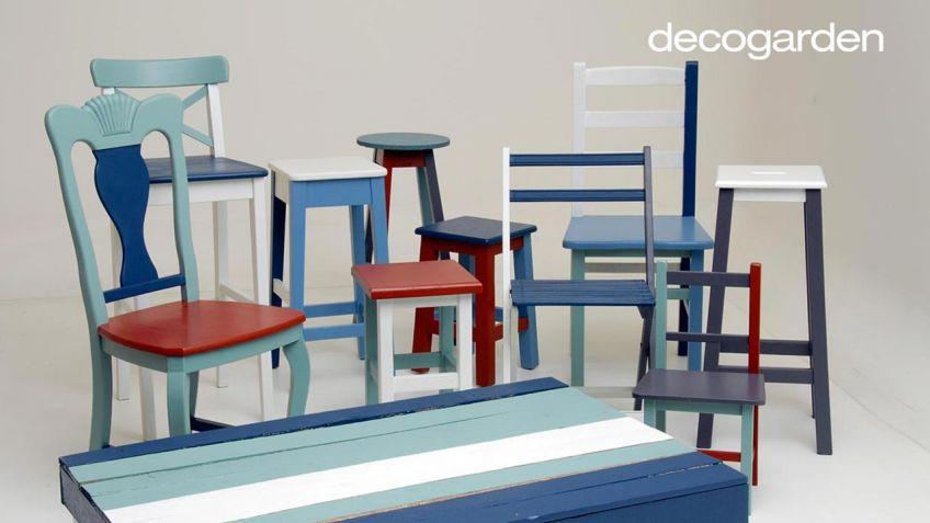 Pintar sillas de madera - Decogarden