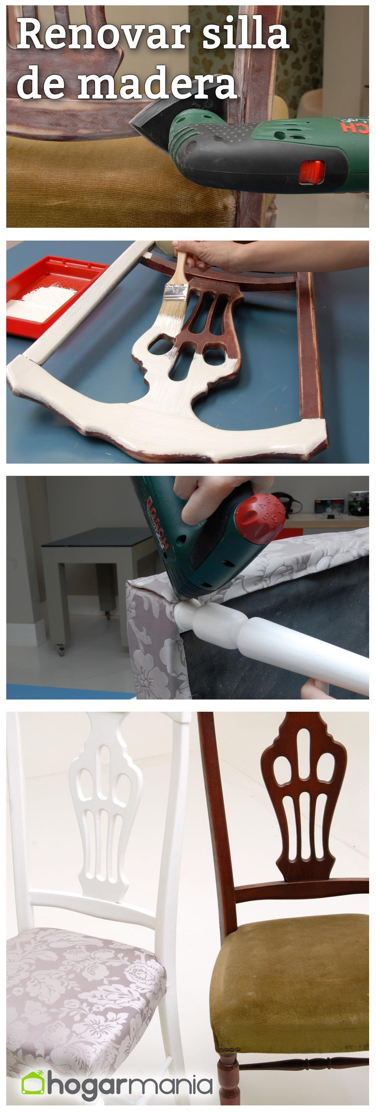 Renovar una silla de madera