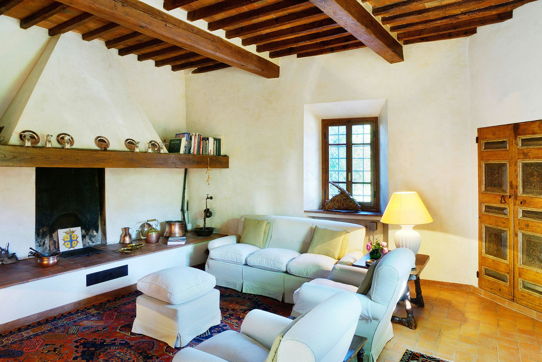 Estilo r stico hogarmania for Tuscan style homes interior