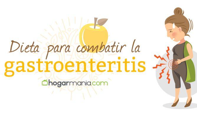 Dieta blanda para despues de una gastroenteritis