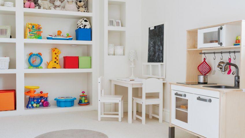 Ideas para decorar una zona de juegos infantil - Hogarmania