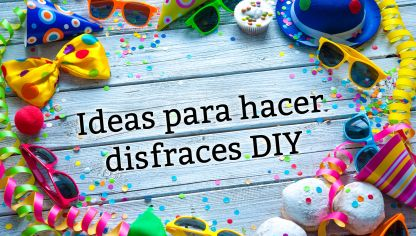 Ideas de disfraces caseros