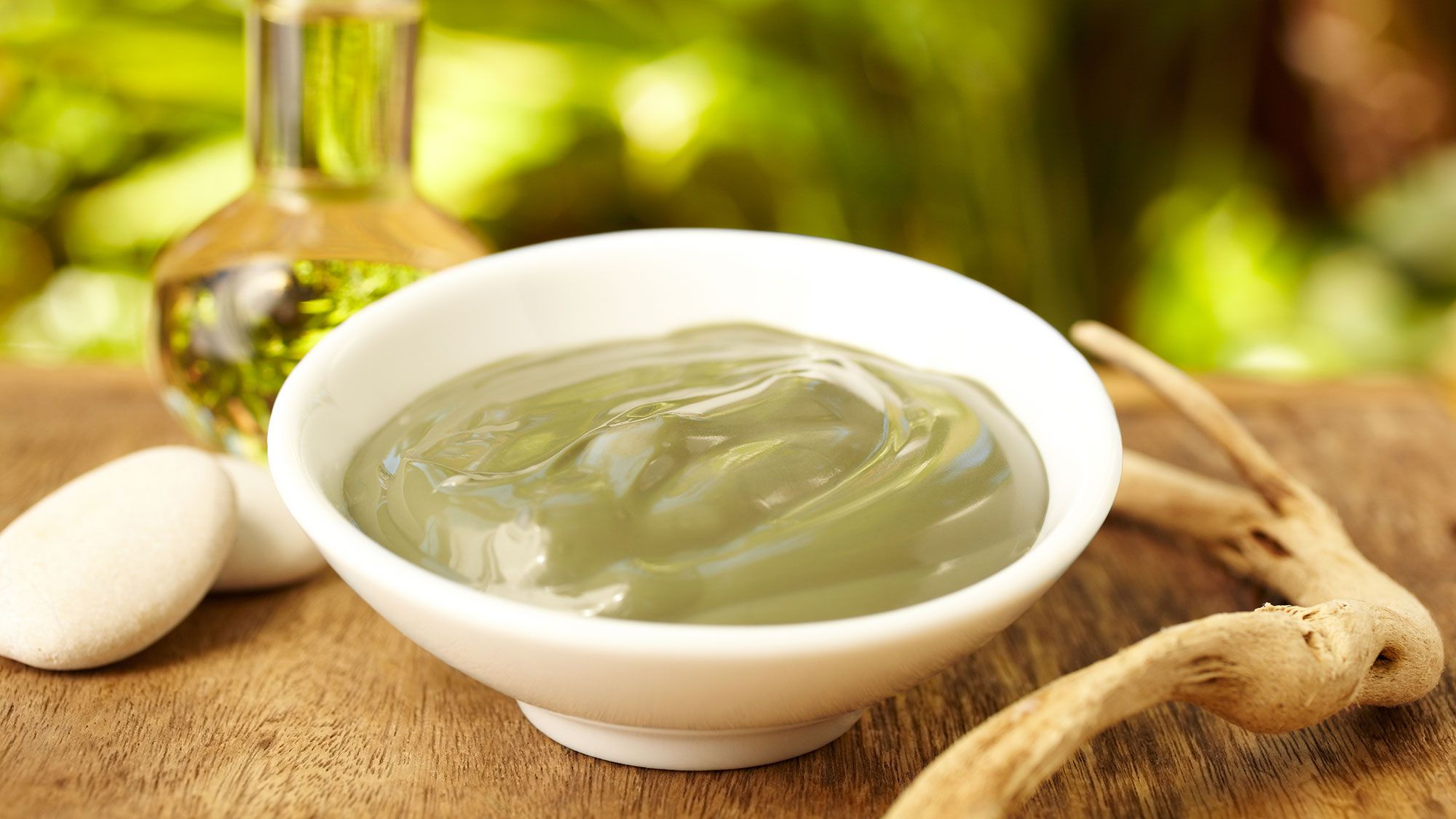 mascarilla aceite oliva