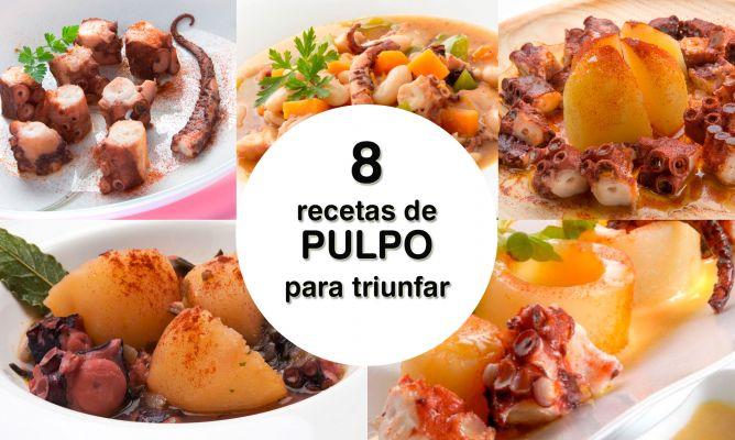 8 recetas con pulpo para triunfar - Karlos Arguiñano
