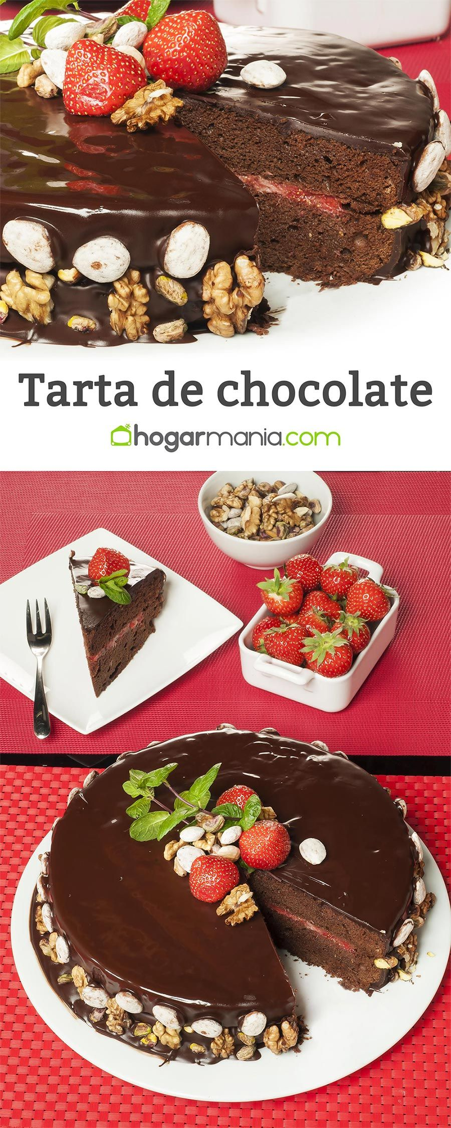 Tarta de chocolate 100%