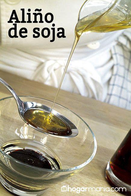 Aliño soja receta