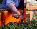 Materia orgánica y materiales para usar en el compost: aceleradores