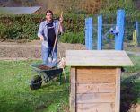 Materia orgánica y materiales para usar en el compost: uso del compost