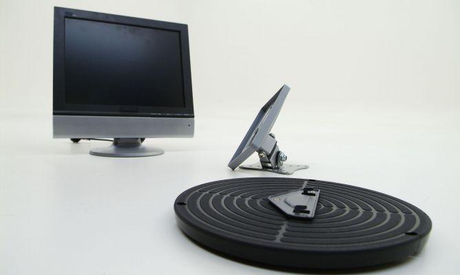 Soporte para televisi n de pantalla plana bricoman a for Soporte para tele