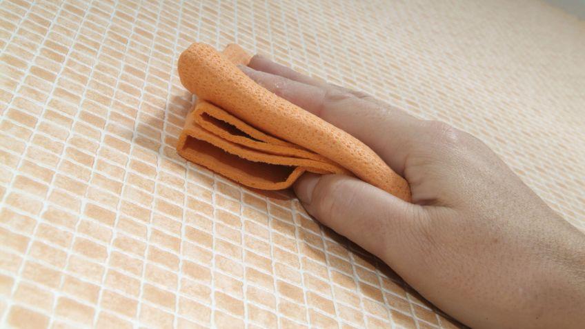 empapelar con papel especial para bao