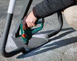 Colocar barrera de aparcamiento abatible