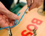 Cómo hacer conexión eléctrica con un tubo termoretráctil