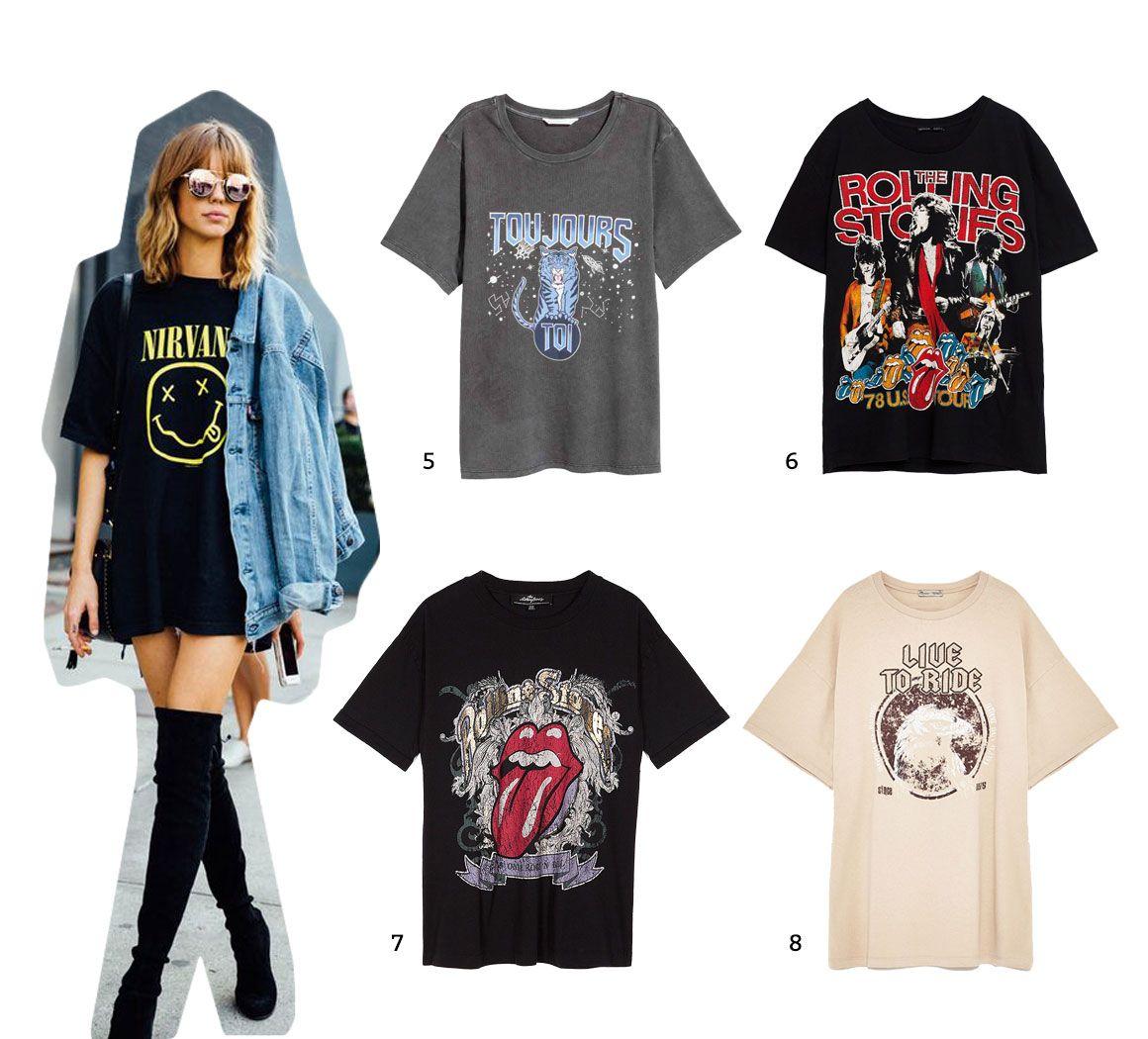 Camisetas rockeras 2