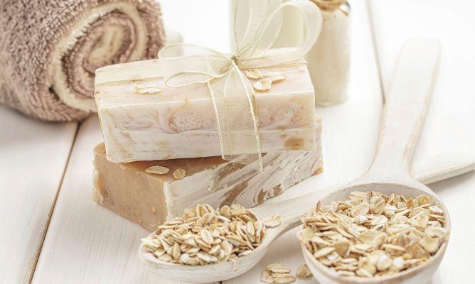 Jabón natural de avena y miel - Hogarmania