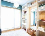 Convertir dormitorio en vestidor abierto
