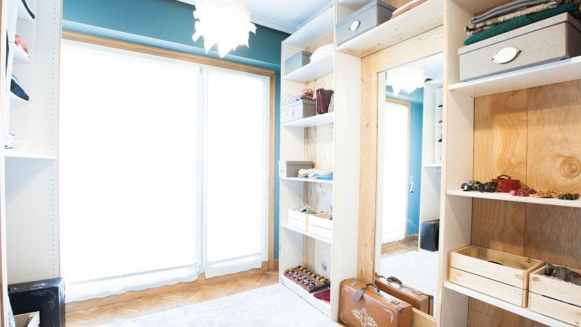 Convertir dormitorio en vestidor abierto Decogarden