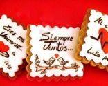Galletas con mensaje para San Valentín