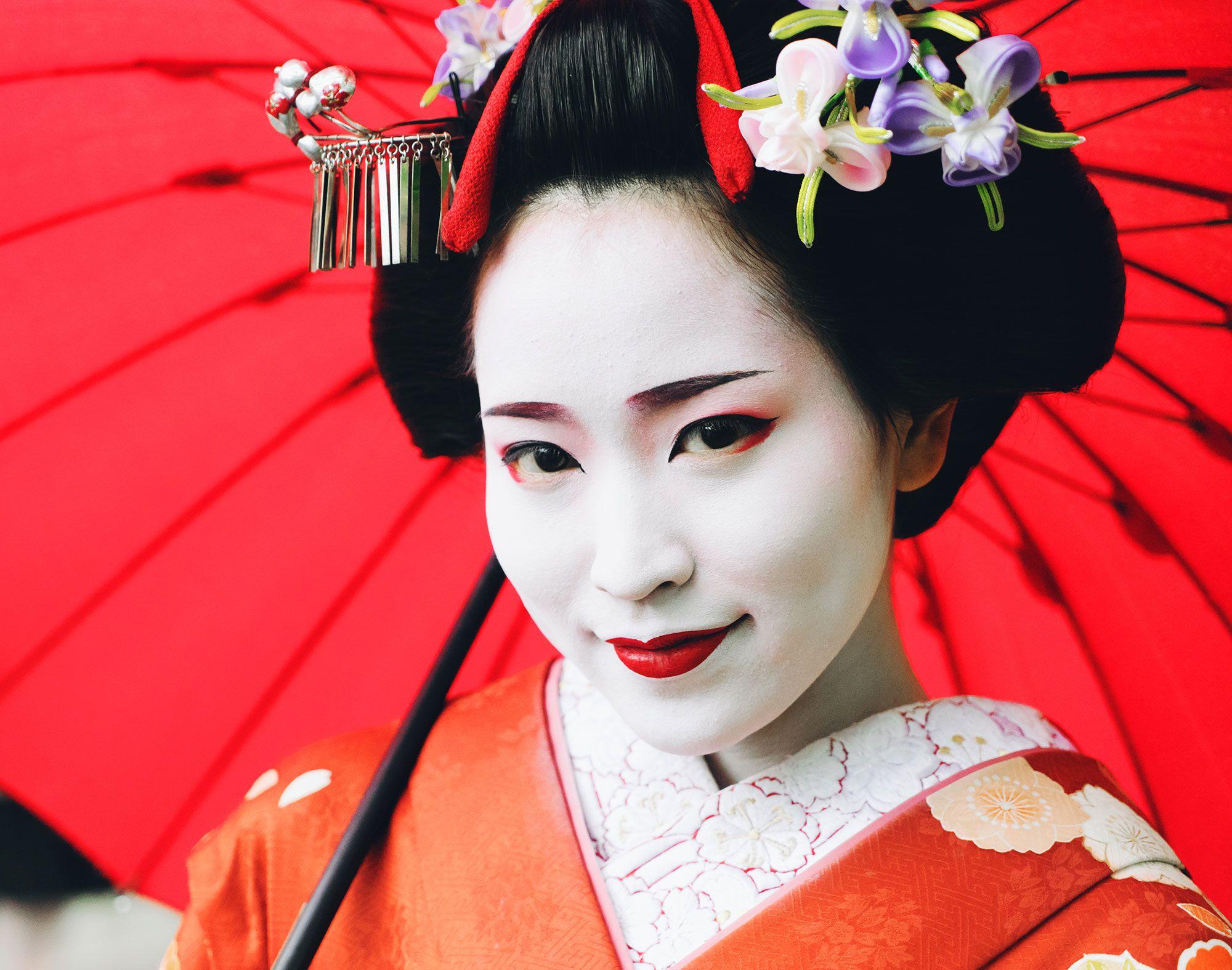look geisha - piel