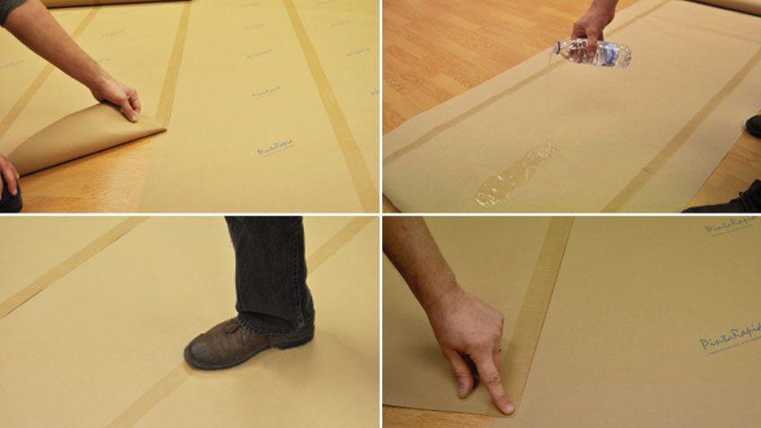 Cómo proteger bien todos los espacios de la casa antes de pintar