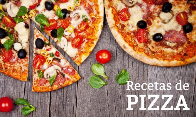 Masa de muy fina hacer pizza como