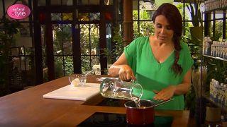 Avellanas en almíbar de vino tinto - Paso 2