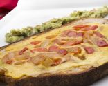 Tortilla de verduras en hogaza