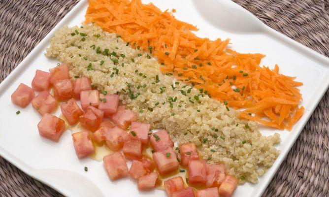 Receta De Ensalada De Quinoa Y Tomate Karlos Arguiñano