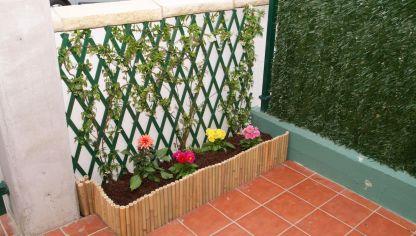 Cercado de madera hogarmania Celosia para jardin