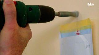 Cómo colocar un taco químico