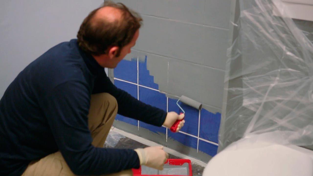 C mo pintar azulejos paso a paso bricoman a - Pintura para azulejos de bano ...