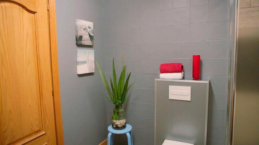 Genial baldosas de ba o fotos azulejos para bano como - Pintar baldosas de bano ...