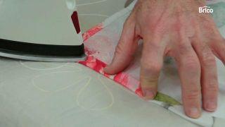 Cómo hacer un cabecero barato con tela
