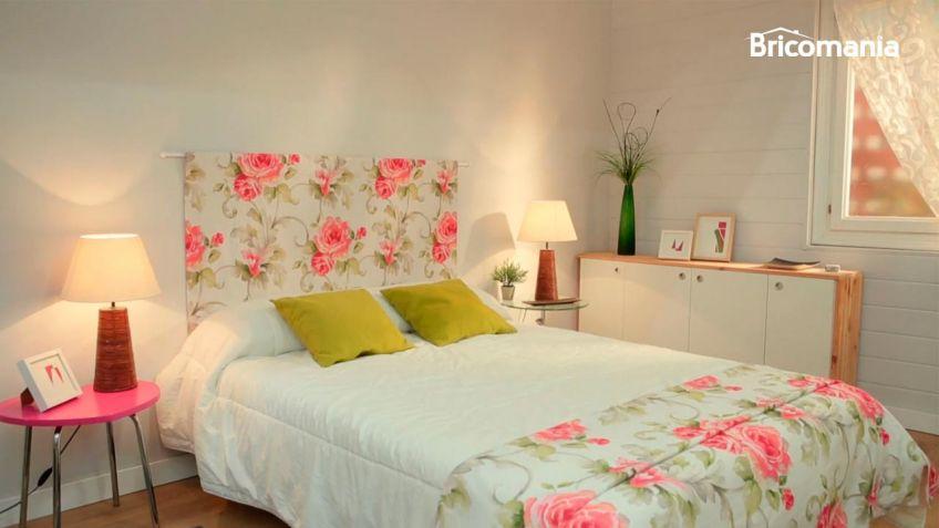Cabeceros tela cabecero cama de tela de lino natural - Telas para tapizar cabeceros ...