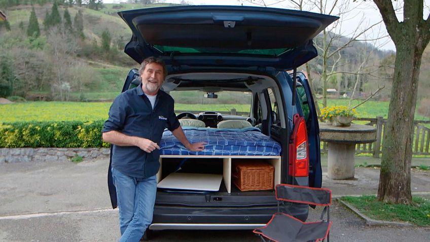 Cómo hacer una cama para una furgoneta camper - Bricomanía
