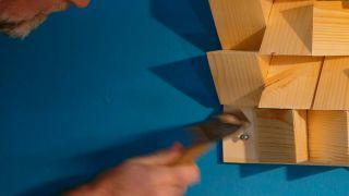 Cómo hacer un panel de madera decorativo