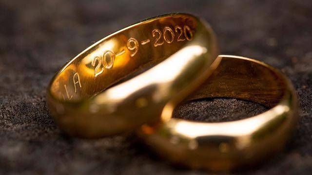 alianzas bodas - grabado