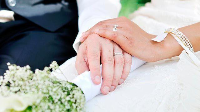 alianzas boda - modelo