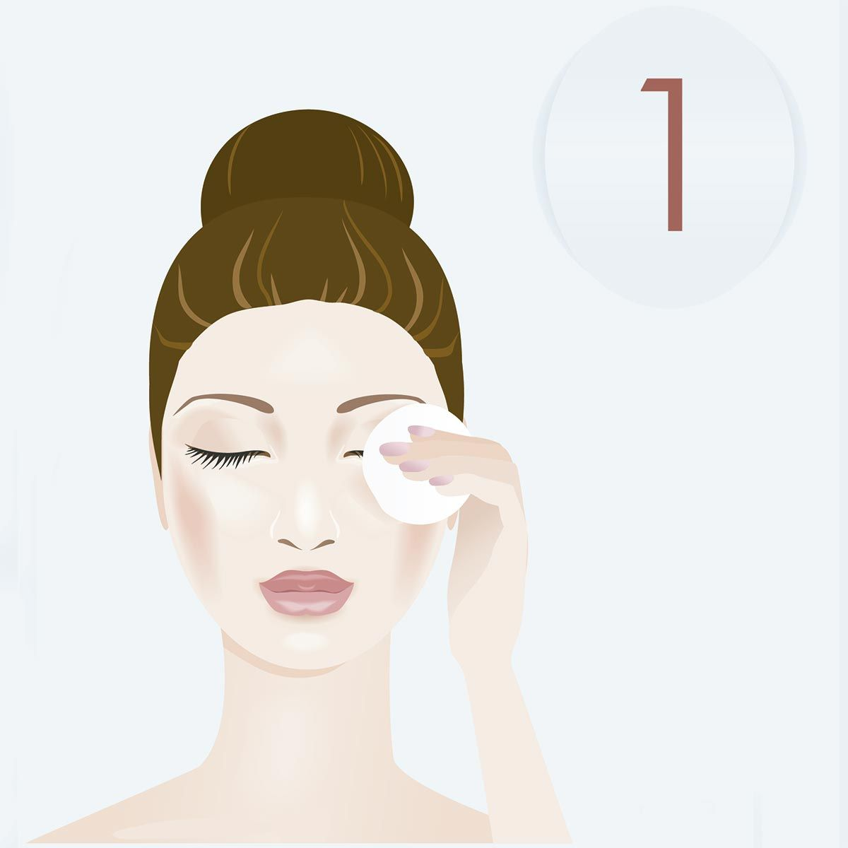 cuidado facial - paso 1