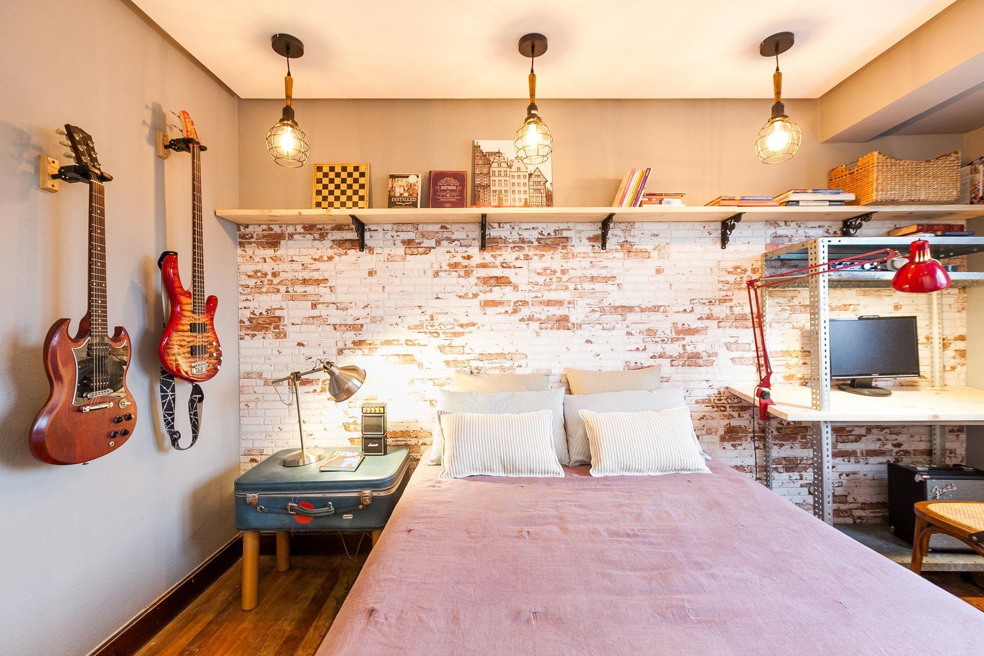 Decorar un dormitorio de estilo industrial