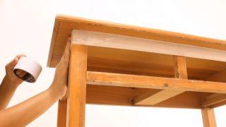 Envejecer mueble de madera con efecto pintura a la tiza - Paso 2