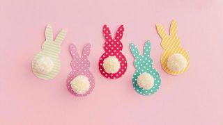 Hacer una guirnalda decorativa de Pascua - Paso 2