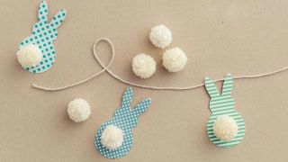 Hacer una guirnalda decorativa de Pascua - Paso 3